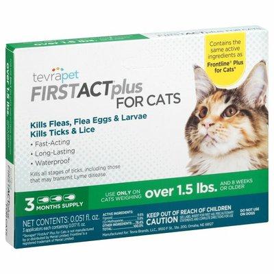 TevraPet Flea & Ticks Prevention, for Cats