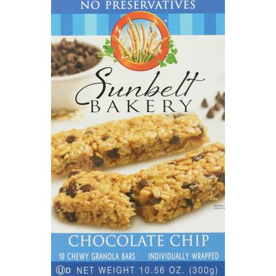 Sunbelt Bakery Chocolate Chip Chewy Granola Bars
