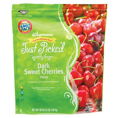 Wegmans Food You Feel Good About Just Picked and Quickly Frozen Dark Sweet Cherries, FAMILY PACK