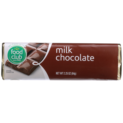 Food Club Milk Chocolate