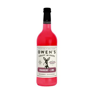 Owen's Craft Mixers Cranberry + Lime Mix