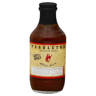 Pendleton Barbecue Sauce, Hot + Spicy, Let'er Buck