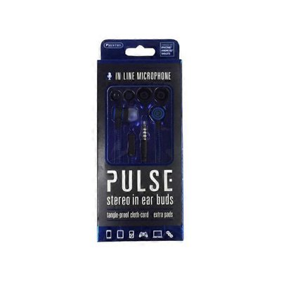 Sentry Pro Pulse Stereo Earbuds With Microphone