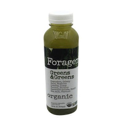 Forager Project Organic Greens & Greens Juice