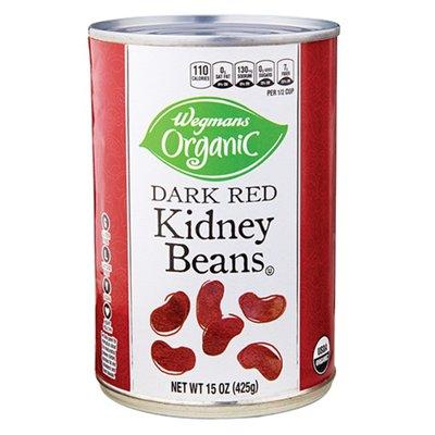 Wegmans Organic Dark Red Kidney Beans