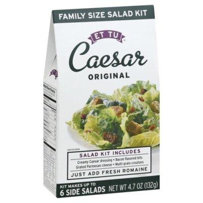 Et Tu Salad Kit, Caesar Original, Family Size