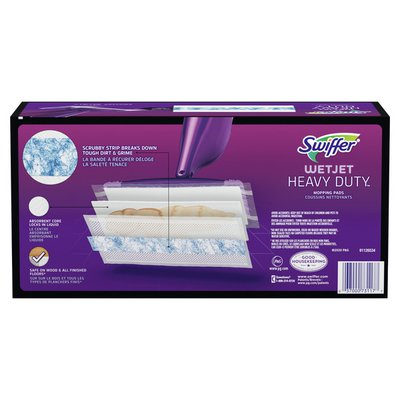 Swiffer Wetjet Heavy Duty Mop Refills For Floor Mopping And Cleaning, All