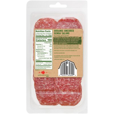 Applegate Organic Genoa Salami