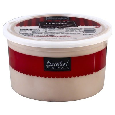 Essential Everyday Ice Cream, Reduced Fat, Chocolate