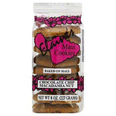 Elaines Maui Cookies Cookies, Chocolate Chip Macadamia Nut