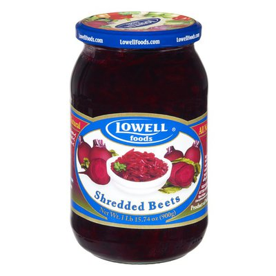 Lowell Foods Shredded Beets