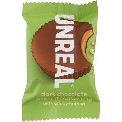 UNREAL Peanut Butter Cup with Crispy Quinoa, Dark Chocolate