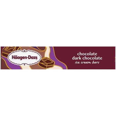 Haagen-Dazs Chocolate Dark Chocolate Ice Cream Bars