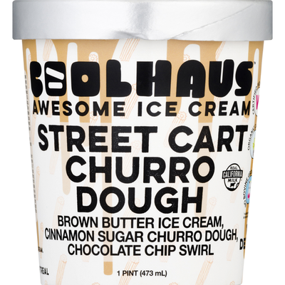 CoolHaus Ice Cream, Awesome, Street Cart Churro Dough
