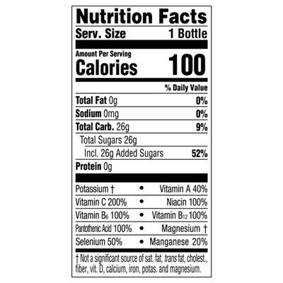 Glaceau Vitaminwater Vitaminwater XXX Acai-Blueberry-Pomegranate