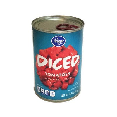 Kroger Diced Tomatoes