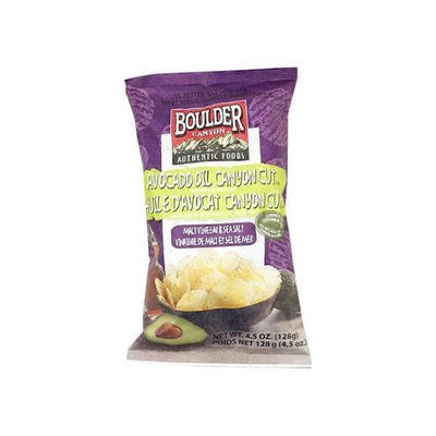 Boulder Canyon Avocado Oil With Sea Salt & Malt Vinegar Kettle Chips