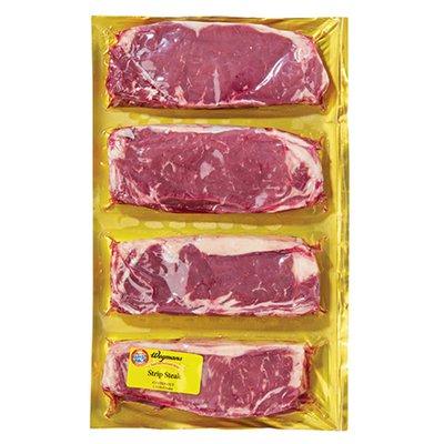 Wegmans Strip Steaks, FAMILY PACK