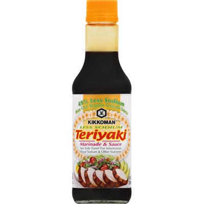 Kikkoman Less Sodium Teriyaki Marinade & Sauce