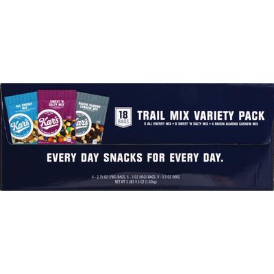 Kars Trail Mix, Variety Pack