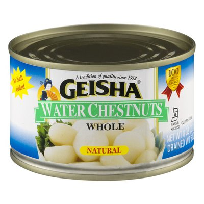 Geisha Whole Water Chestnuts in Water