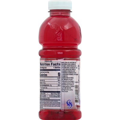 SOBE Hydration Beverage, Nutrient Enhanced, Black and Blue Berry