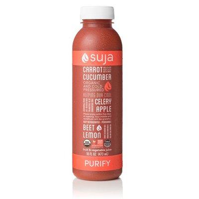 Suja Juice, Carrot, Apple, Celery, Cucumber, Beet Lemon, Purify, Bottle