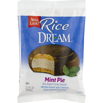 Rice Dream Non-Dairy Frozen Dessert, Mint Pie