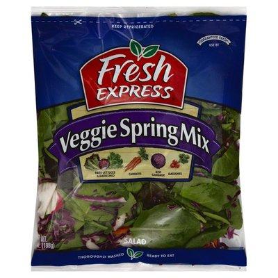 Fresh Express Salad, Veggie Spring Mix