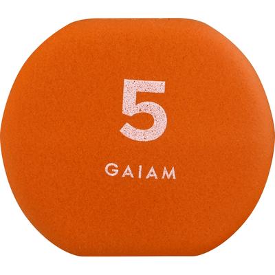 Gaiam Hand Weight, 5 Pound