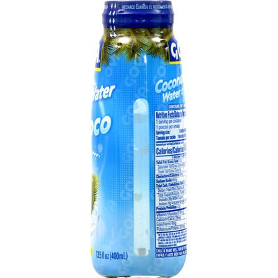 Goya Coconut Water with Pulp, Real Coconut Pieces