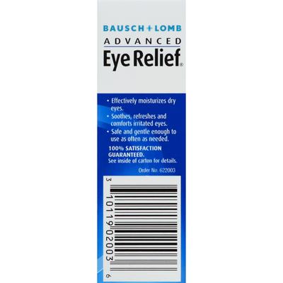 Bausch & Lomb Lubricant Eye Drops, Rejuvenations, Dry Eye