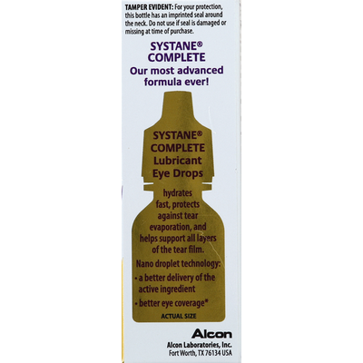 SYSTANE Eye Drops, Complete, Lubricant