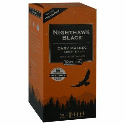 Bota Box Malbec, Dark, Nighthawk Black