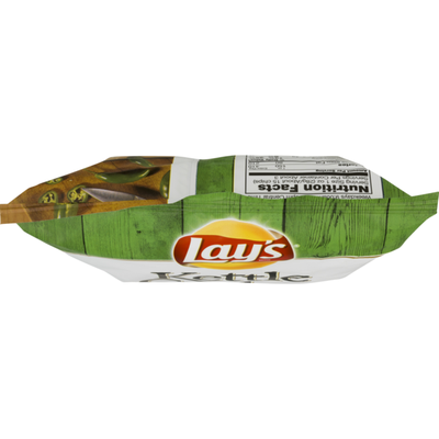Lay's Kettle Cooked Jalapeno Flavored Potato Chips