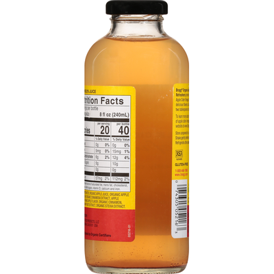 Bragg Apple Cider Vinegar, Organic, Apple Cinnamon