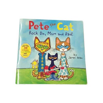 HarperFestival Pete the Cat Rock On Mom & Dad