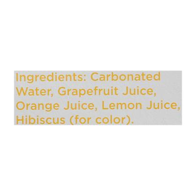 Spindrift Sparkling Water Grapefruit