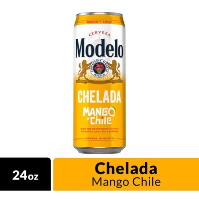 Modelo Chelada Mango Y Chile Mexican Import Flavored Beer Can 24 Oz Instacart