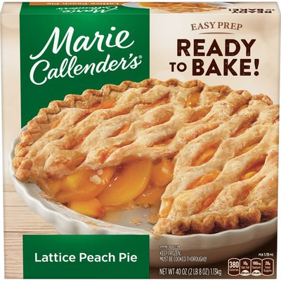 Marie Callender's Lattice Peach Pie