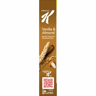 Kellogg's Special K Breakfast Cereal, 11 Vitamins and Minerals, Vanilla and Almond