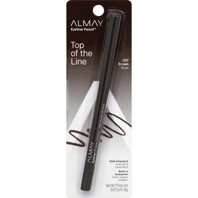 Almay Eye Liner, Pencil, Brown 207
