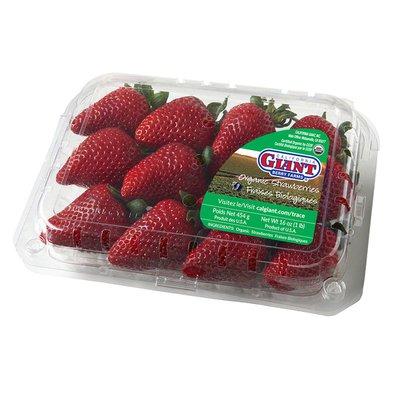 California Giant Organic Strawberries