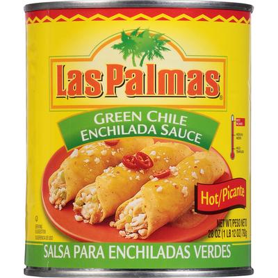 Las Palmas Hot Green Chile Enchilada Sauce