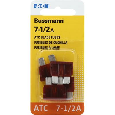 Bussmann Blade Fuses, ATC, 7-1/2A