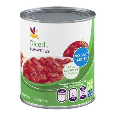 SB Diced Tomatoes No Salt Added