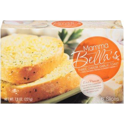 Mamma Bella Three Cheese Garlic Toast