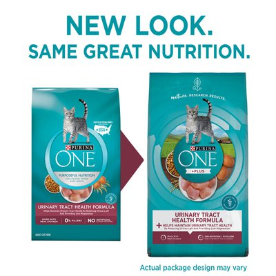 Purina ONE High Protein Dry Cat Food, +Plus Urinary Tract Health Formula