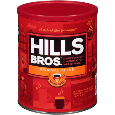 Hills Bros. Medium Roast Original Blend Coffee