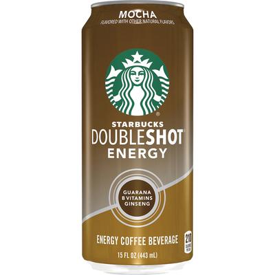 Starbucks Double Shot Energy Mocha Fortified Energy Coffee Drink